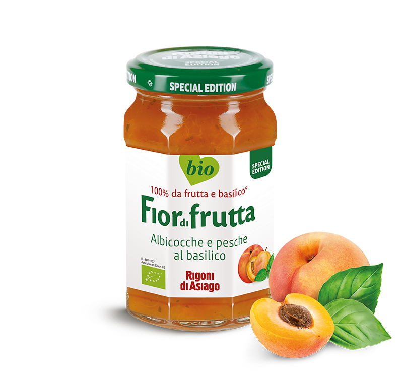 FIORDIFRUTTA PEACH AND APRICOT WITH BASIL